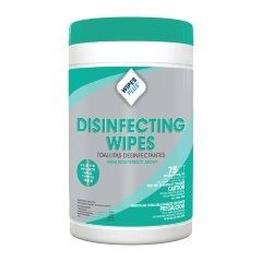WIPE, DISINFECTING, 7x8, FRESH SCENT, 75SH/CANISTER